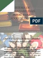 1sistema de Responsabilidad Penal Para Adolescentes Final