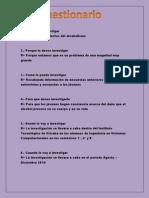Jose Cuestionario