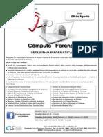Seguridad Informática - Mod. III Computo Forence