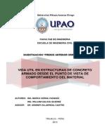 Vida util en estructuras de Concreto Armado desde el punto de vista de comportamiento del material.pdf