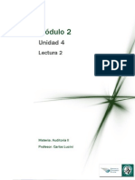 Lectura 2 - La Auditoría Interna y Su Vinculación Con La Auditoría Externa