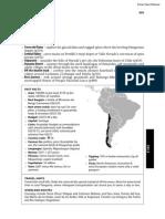 South America Chile
