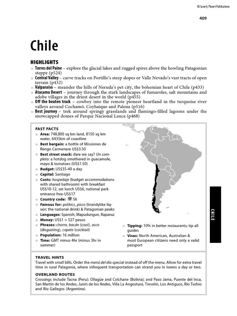 South America Chile | Augusto Pinochet | Chile