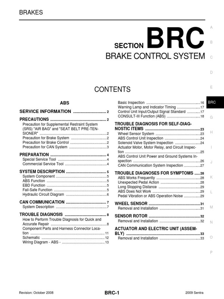 Nissan Sentra Service Manual: CONSULT Data Link Connector (DLC) Circuit
