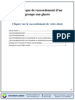 000-Raccordement Hydraulique Groupe Eau Glace