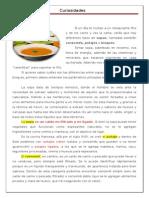 CURIOSIDADES. Sopa, Potaje, Consomé, Bisqués