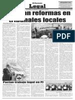 19-08-2014 Analizan reformas en tribunales locales