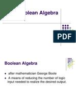 Boolean Algebra for Ladder Logic