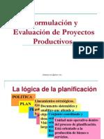 Formulación de Proyectos PRODUCTIVOS