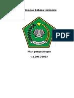 Kerja Kelompok Bahasa Indonesia
