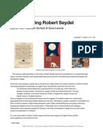 Remembering Robert Seydel