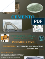 Expo. Cemento - Materiales de Construccion