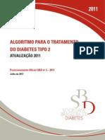 Algorítimo Para o Tratamento Do Dm2