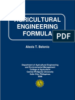 Agricultural Engineering Formula