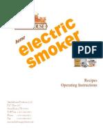 Big Chief Electric Smokehouse Manual & Cookbook