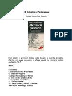 Gonzalez Toledo, Felipe - Veinte Cronicas Policiacas