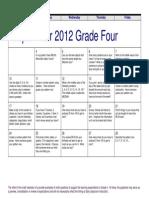 grade 4 2012 13
