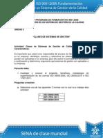 Actividad de Aprendizaje Unidad 2 Clases de Sistemas de Gestión (1) Desarrollado