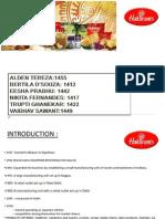 Haldiram Case Study Group 4 Final Presentation
