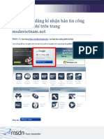 How to Register MSDN Flash Newsletter