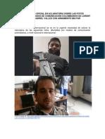 Comunicado Oficial en Aclaratoria Sobre Las Fotos Difundidas Por Medios de Comunicación Colombianos de Lorent Saleh y Gabriel Valles Con Armamento Militar