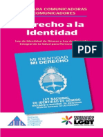 Argentina  Queer Rights Document - Falgbt Guia Para Comunicadores Sobre Identidad de Genero
