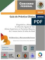 Infeccion Vias Aereas Evr Cenetec