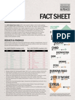 Global Peace Index (GPI) 2013 Fact Sheet 0