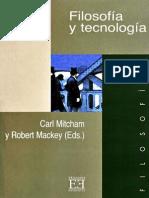 Mitcham Carl - Filosofia Y Tecnologia