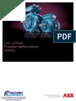 ABB Process Performance Motors Catalogue