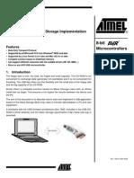 AVR273 - USB Mass Storage Implementation