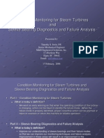 Condition Monitoring for Steam Turbines Part II