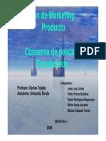 Conserva de Pescado Encebollado