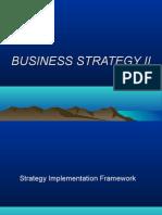 Business Strategy II