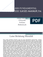 Analisis Fundamental Pmmk