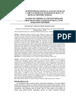 Jurnal Pengujian Konsentrasi Chemical Oxygen Demand Edited