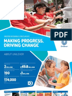 Unilever Sustainable Living Plan 2013