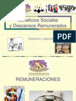 Beneficios_sociales y Descansos Remunerados