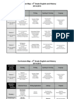 6th humanities curriculum map 20145
