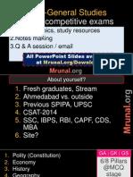 SPIPA Orientation P1 General Studies v1