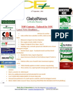 12th September,2014 Daily Global Rice E-Newsletter by Riceplus Magazine