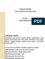TERAPI MEDIS PADA GANGGUAN SISTEM INTEGUMEN.pptx