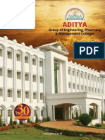 Aditya Group of Institutions,Kakinada,Andhra Pradesh Ebrochure