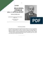 El Imperialismo, Fase Superior Del Capitalismo de Lenin (2)
