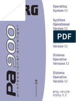 Pa900 Upgrade Manual v110