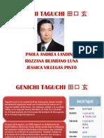 Genichi Taguchi 田口 玄 (1)