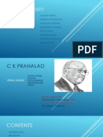 C K Prahalad Assignment