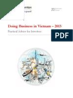 Doing Business in Vietnam 2013