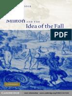 [William Poole] Milton and the Idea of the Fall