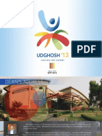 Udghosh 13 Brochure